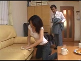 Japanese Dad Attack and Fuck Young Babysitter