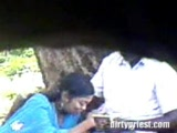 Indian Wife Caught Cheating Outdoor