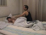 Daddy Awakes And Fucks Her