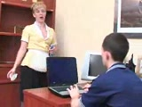 Mature Russian Maid Fuck Boy