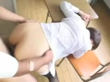 Japanese Teacher Fucked In Classroom