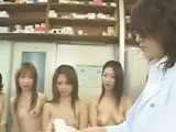 Japanese Schoolgirls Fucked At Doctor Checkup