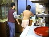 Neighbor Boy Attacked and Fucked Japanese Mature Housewife In Kitchen  Retro Japan Porn