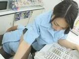 Hot Japanese Cashier Girl Abuse In The Store