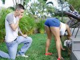 Nice Latina Ass Made Horny Neighbour Make A Final Move